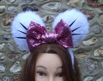 Marie Minnie Mouse ears !!!