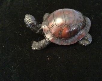 Hand carved polished Tortoise