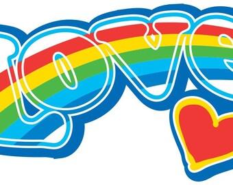LOVE DECAL Wall Art Sticker