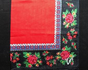 KENZO vintage handkerchief.
