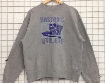 Vintage New Balance Sweatshirts Big Logo Nice Design