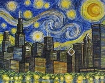 Starry Starry Night Chicago