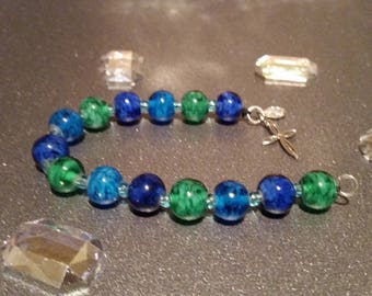 Sea Blue and Green Bracelet