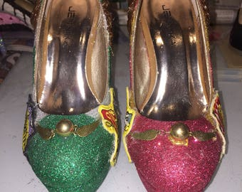 Harry Potter house heels-wedding-prom