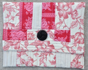 Modern quilted Kindle case 17