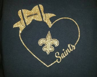 Team T-shirt - Heart and bow