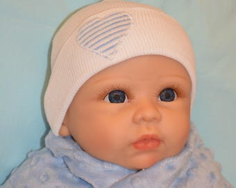 baby hat for boy  sterilized for newborn hospital hat