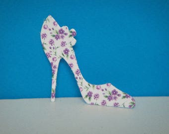 Cut out heel in gloss photo paper high quality for scrapbooking and card