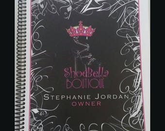 Customized spiral notebook