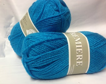 wool-knitting-crochet - 5 balls of yarn ideal layette / made in France