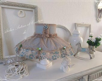 "Hat Shade,  French Shabby Chic ""Charme d'Antan"""