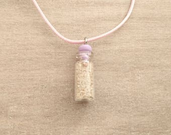 necklace with sand of Normandy