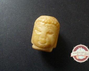 Pearl Buddha buddha beige jade 27 x 22 x 23 mm