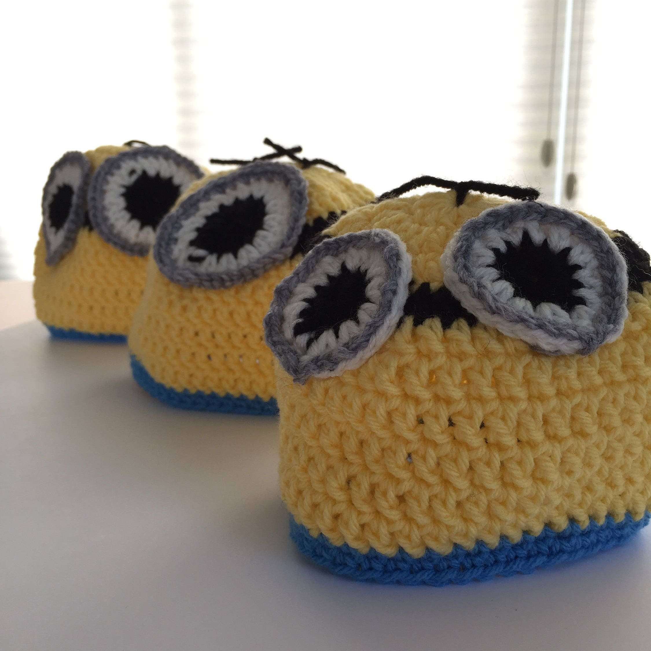 Toddler Crochet Minion Hat Despicable Me Inspired Minion Hat