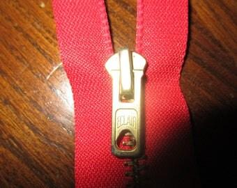 metal red separable closure gold 55 cm