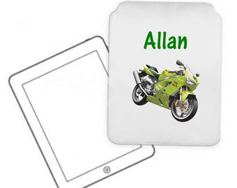 Cover for tablet pc bike personalized with name