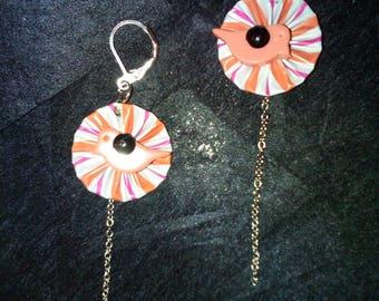 Nespresso capsule earrings
