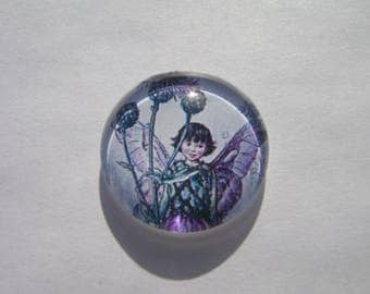 Fairy 25 mm round cabochon