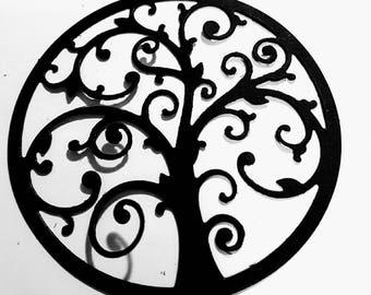 Tree of life for scrapbooking die cut