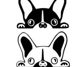 """""""Frenchie"""" decal stickers"""