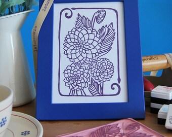 "Handprint ""dalie"""
