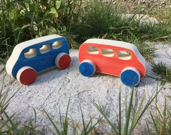mini bus wooden