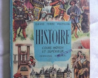 french history book, 1986