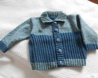 Baby boy wool jacket 2 years