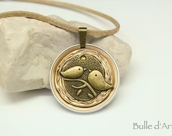 Nespresso Capsules necklace * birds *.