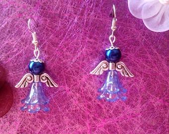 Earrings Blue Angels