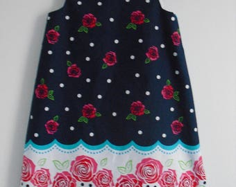 "Dress ""Beautiful Roses"", 5/6 years"