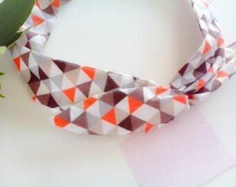 Cotton tie headband