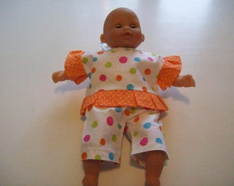 clothing for infants of 30 cm, tidoo hug (pants or Capri pants, tunic)