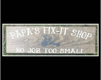 Papa's Fix-It Shop