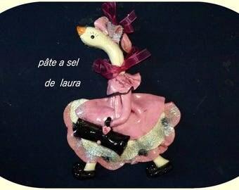 Salt dough a goose