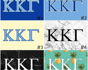 Kappa Kappa Gamma Sorority 3' x 5' Flag