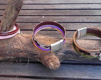 Bracelet leather cords