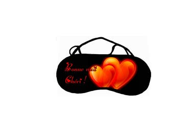 Cache REF 27 customizable eye sleep mask