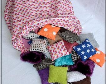 Montessori sensory pillow