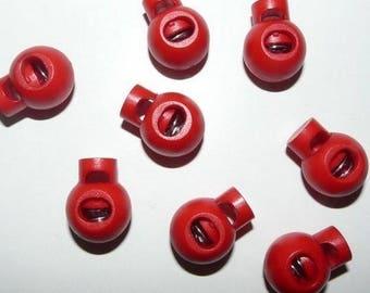 Blocker lanyard red x 2