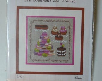 Ladies pastries blessed Embroidery Kit
