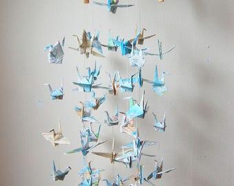 Paper Crane Map Mobile