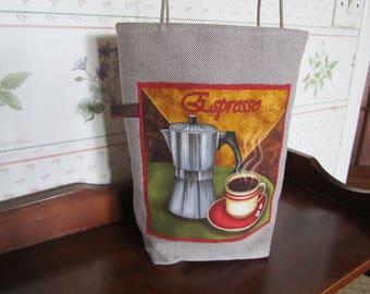 """""""Petti bag"""" Espresso """"canvas"""