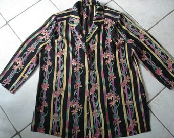 Vintage blouse size 48 3/4 sleeves