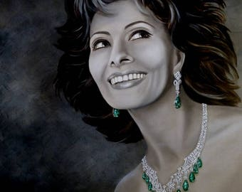 Sophia Loren Giclee