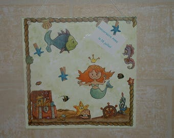 Picture frames or think beast - the Little Mermaid
