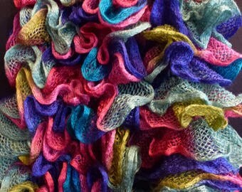 Froufrou multicolored scarf