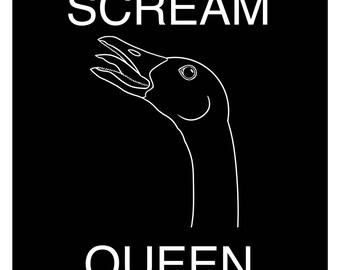 Scream Queen Goose Patch