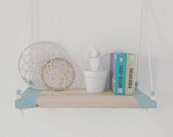 """""""Blue"""" shelf"""