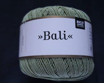Ball of yarn Rico Design khaki Bali Fabre 006